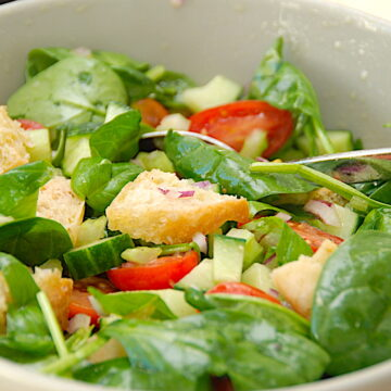 billederesultat for brødsalat fra Italien